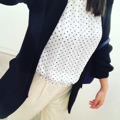 ♡ファッション編♡ Uniqlo ユニクロリネン白シャツ × レオパード ロングスカート
